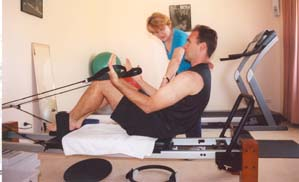 Personal Training on the Reformer